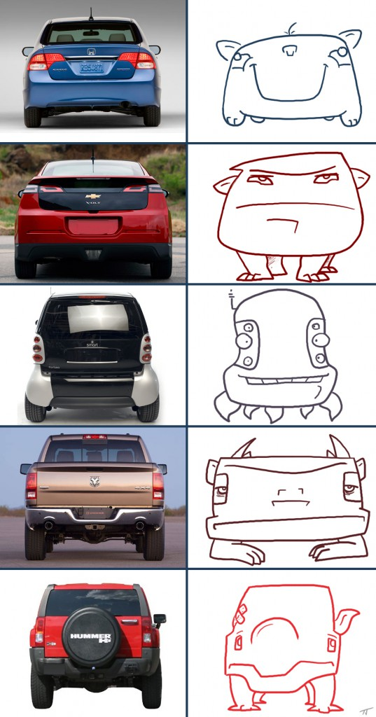 car monsters