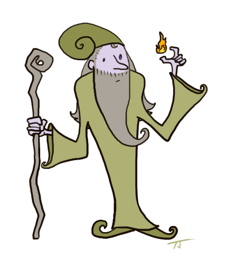 green wizard