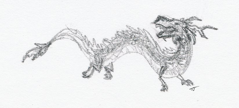 dragon sketch