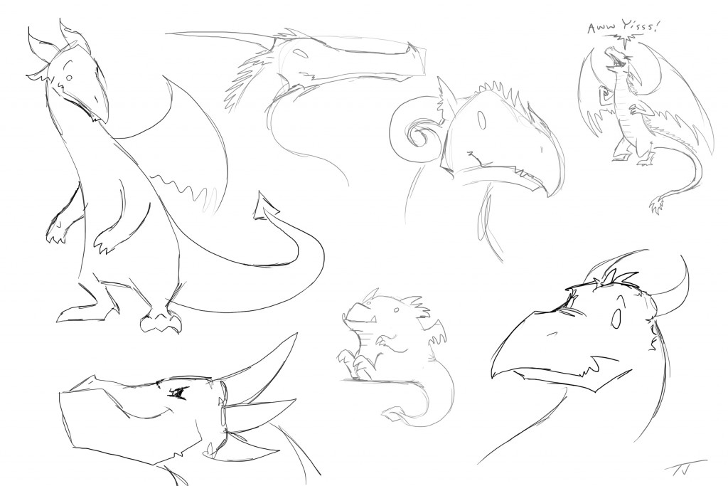 bunch of dragons