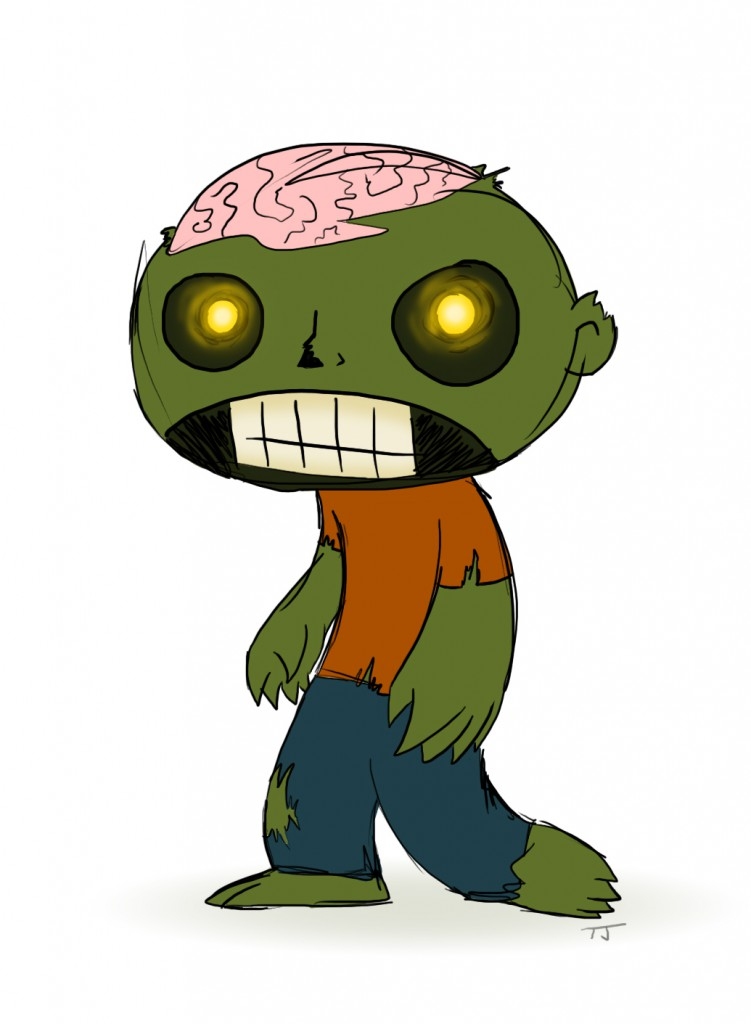 zombie needs a hat